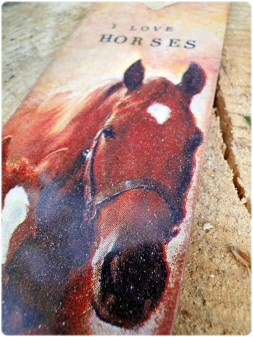 Zakładka do książki I love Horses 3