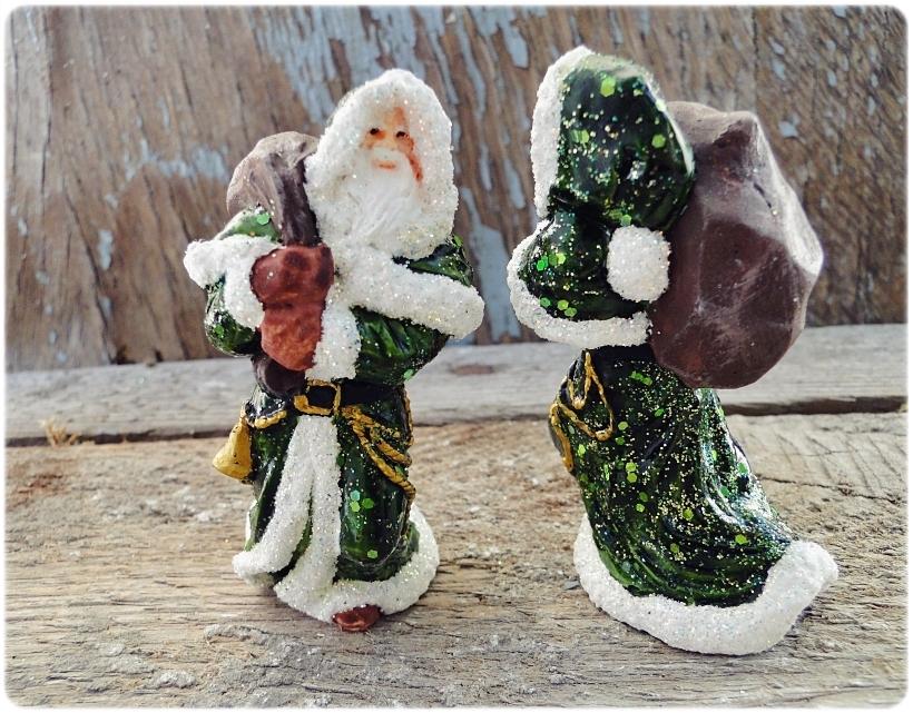 Figurka gipsowa Mikołaj 11