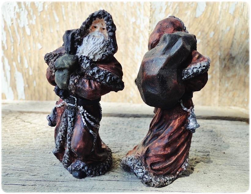 Figurka gipsowa Mikołaj 14