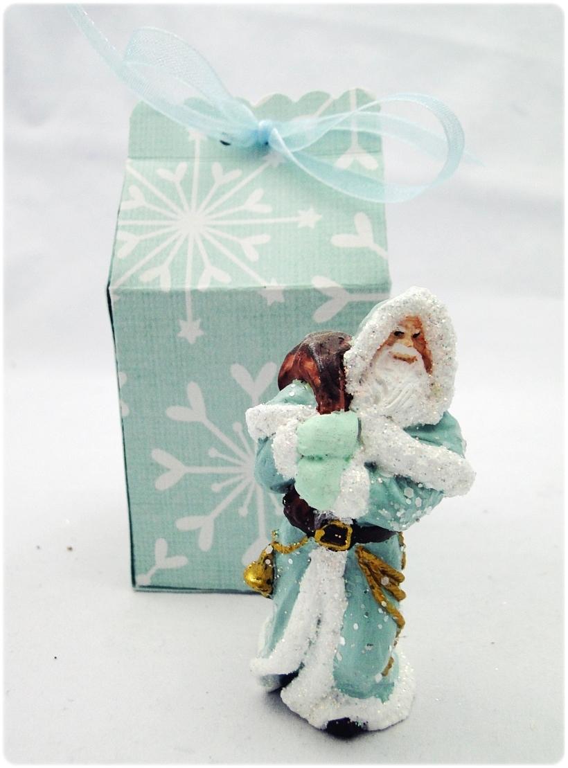 Figurka gipsowa Mikołaj 23