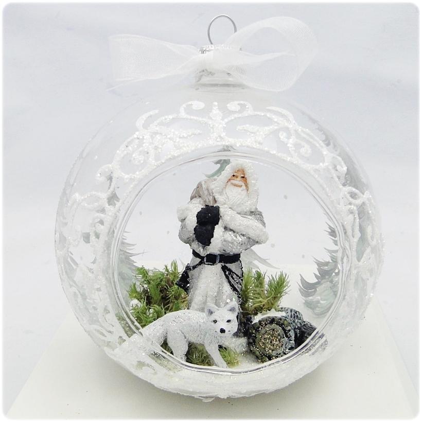 Figurka gipsowa Mikołaj 25