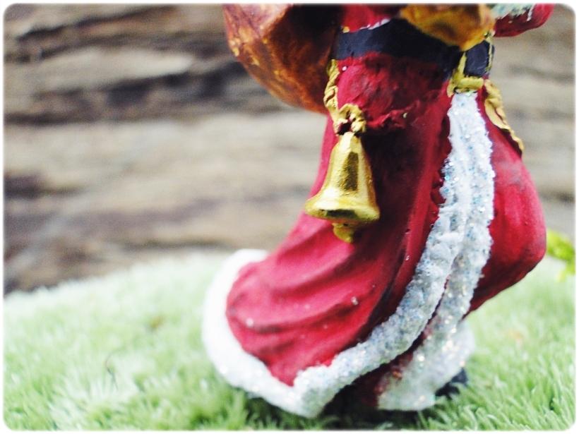 Figurka gipsowa Mikołaj 2a
