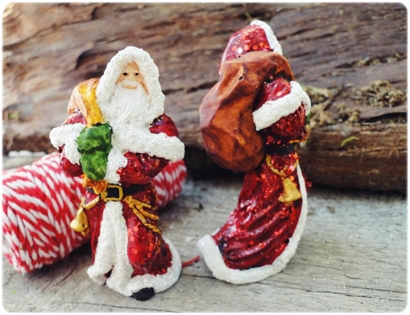 Figurka gipsowa Mikołaj 3