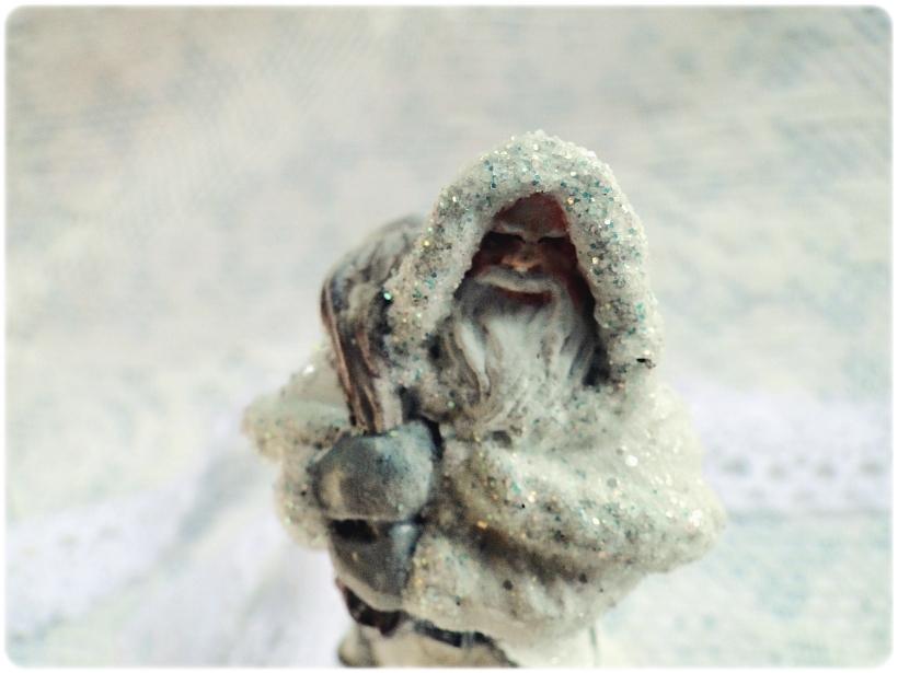Figurka gipsowa Mikołaj 5