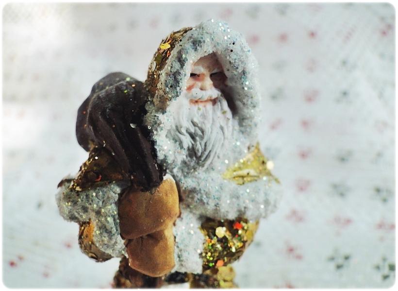 Figurka gipsowa Mikołaj 7