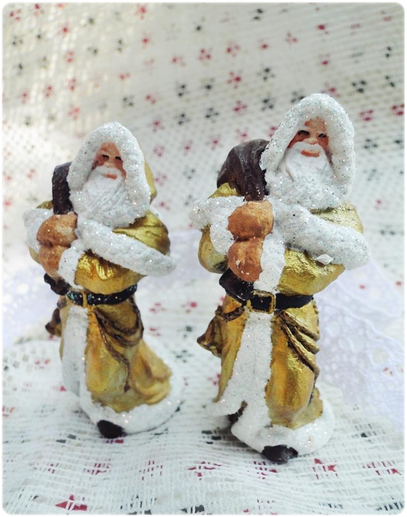 Figurka gipsowa Mikołaj 9
