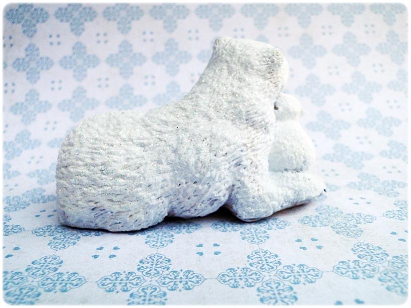 Figurka gipsowa Niedźwiedź polarny 3