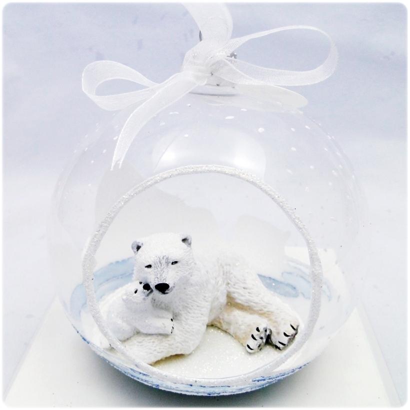 Figurka gipsowa Niedźwiedź polarny 6