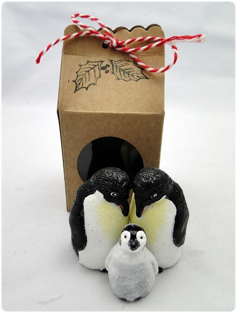 Figurka gipsowa Pingwin 4