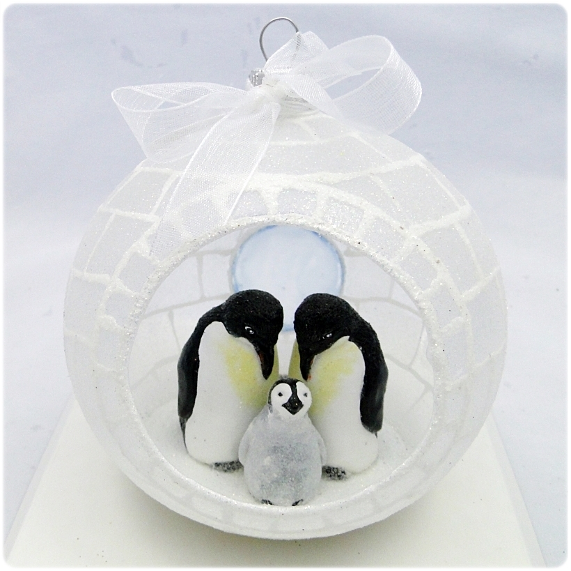 Figurka gipsowa Pingwin 6