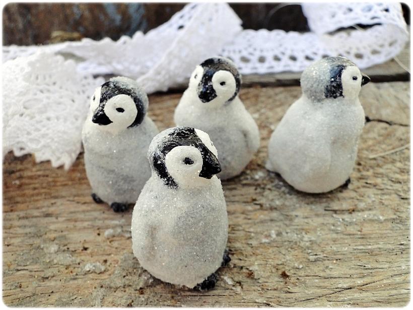 Figurka gipsowa Pingwinek 3