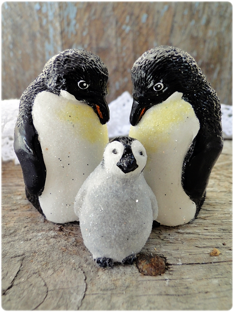 Figurka gipsowa Pingwinek 4