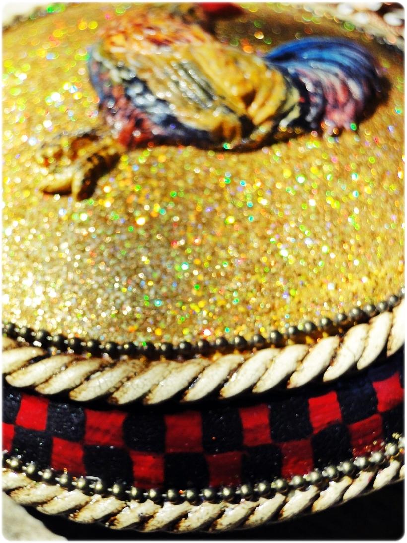 Bombka medalion Kogucik 4