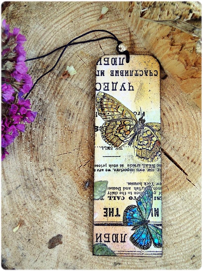Zakładka do książki Motyle 1