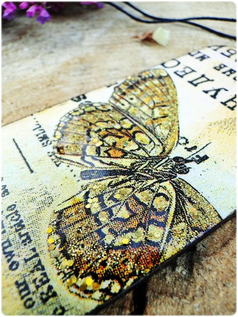 Zakładka do książki Motyle 3