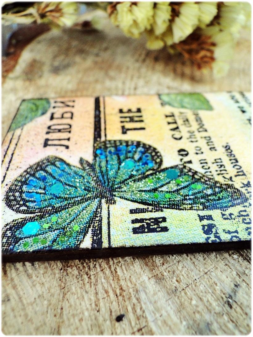 Zakładka do książki Motyle 4